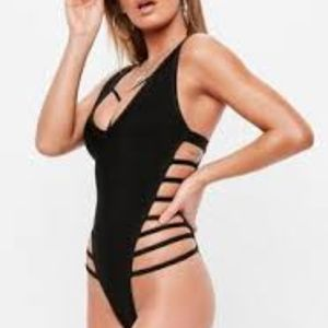 Other - Black One piece sexy bathing suit